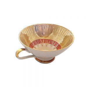 Vintage Bavaria tek çay fincanı Brasil. Tek fincan ürünlerimizi zeytin, reçel ve çerez gibi değişik sunumlar için de kullanabilirsiniz. Retrozade - Antika