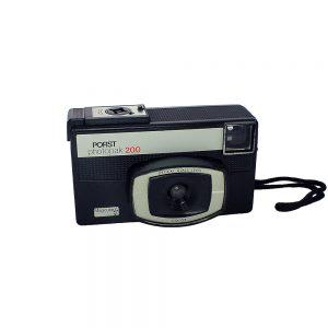 1971 - 1975 Almanya & Japonya yapımı Porst Photopak 200 fotoğraf makinesi. 126 cassette film. Retrozade - Vintage Retro Antika