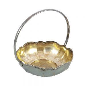 Minie vintage gümüş şekerlik, alpaka 100 damgalı Alman gümüşüdür. Sukulent ve kaktüs için saksı olarak da kullanabilirsiniz! Retrozade - Retro Antika