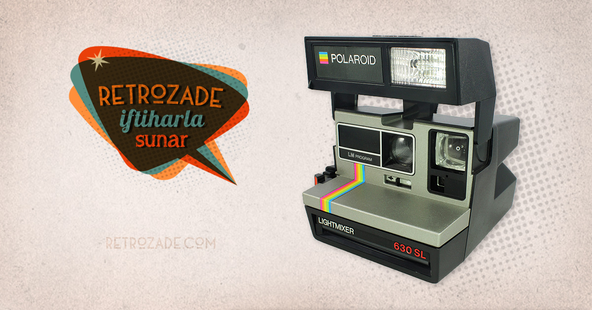 polaroid 630 lightmixer ip ak foto raf makinesi sat n al retrozade. Black Bedroom Furniture Sets. Home Design Ideas