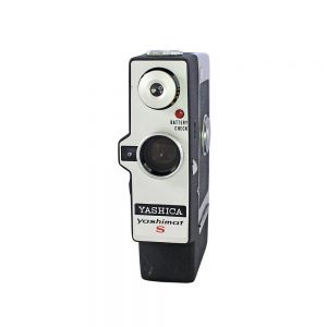 1963 - 1965 Japonya yapımı Yashica Yashimat S 8mm film kamerası. Yashica Yashinon-S 10mm f1.8 objektif. Retrozade - Vintage Retro Antika