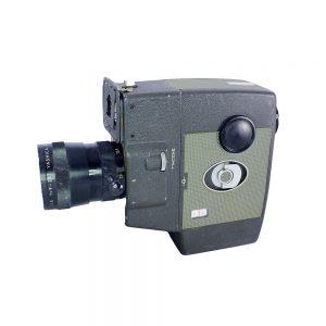 Yashica 8 U-Matic 8mm Film Kamerası 1960'lardan Japon üremi. Orijinal deri çantası, kitapçığı ve faturasıyla birlikte! Retrozade - Vintage • Retro