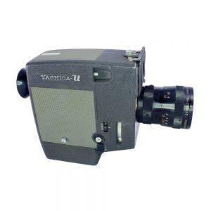 Yashica U-Matic 8mm Film Kamerası 1960'lardan Japon üremi. Orijinal deri çantası, kitapçığı ve faturasıyla birlikte! Retrozade - Vintage • Retro