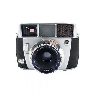 Balda Supermatic 35mm fotoğraf makinesi, 1960 Almanya üretimi, orijinal deri çantasıyla, mükemmel kondisyonda! Retrozade - Vintage • Retro • Antika