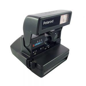 Retro Polaroid 636 Close-up 90'larda üretilen şipşak fotoğraf makinesi, integral 600 film ile çalışır! Retrozade - Vintage • Retro • Antika