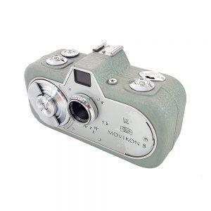 1952 üretimi Zeiss Ikon Movikon 8 film kamerası, farklı görünümüyle koleksiyonerlerin gözdesi! Orijinal deri çantasıyla.. Retrozade Vintage • Retro • Antika