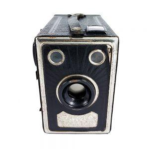 Balda Rollbox,1932-1935 yıllarında üretilen Alman box fotoğraf makinesi! 6x9 formatında 120 roll film kullanır... Retrozade - Vintage • Retro • Antika