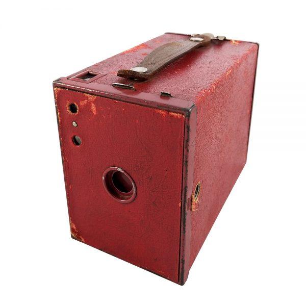 Kodak Brownie n°2 Model F, 1929 - 1933 Amerika üretimi box fotoğraf makinesi! Nadir bulunan kırmızının cazibesi! ✨Retrozade✨Vintage • Retro • Antika