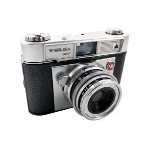 Certex Werlisa Color 35mm fotoğraf makinesi, 1960'lı yıllardan, nadir bulunan İspanyol yapımı! ✨ Retrozade ✨ Vintage • Retro • Antika