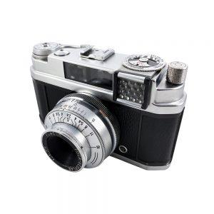 Foca Focasport ID 35mm fotoğraf makinesi 1950 sonları Fransa üretimi, Neoplar 2,8 / 45 mm lens ile koleksiyonerlerin gözdesi! ✨Retrozade✨ Vintage • Retro