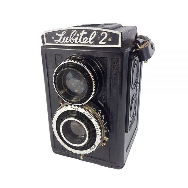 Gomz Lubitel 2 fotoğraf makinesi, 1950-1980 arası üretilen Rus yapımı TLR - twin lens reflex, koleksiyonerlerin gözdesi! ✨Retrozade✨Vintage • Retro • Antika