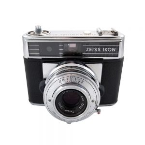 Zeiss Ikon Contessamat STE 35mm fotoğraf makinesi 1965 Alman üretimi, 50mm f2.8 Tessar lens ve orijinal deri çantasıyla! ✨Retrozade✨ Vintage • Retro