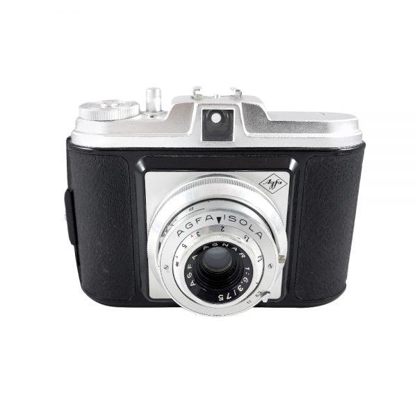 Agfa Isola orta format fotoğraf makinesi 1950'lerde üretilmiştir! Agfa Agnar 6,3/75mm lens, 6x6 format çekimleriniz için ideal! ✨Retrozade✨ Vintage • Retro