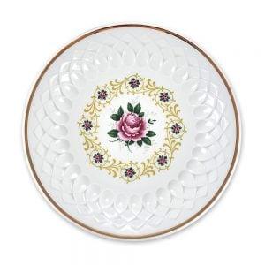 Vintage Bavaria ayaklı sunum tabağı Fiera ile servisleriniz canlansın! Retro designıyla çok göz alıcı! Kendinden işlemeli porseleniyle şık sunumlarınıza vintage dokunuş! ✨Retrozade✨Vintage • Retro • Antika